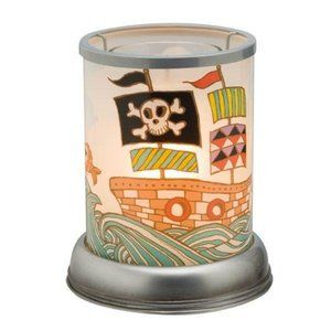 Scentsy Pirate Plug In Warmer Whale Wax Warmer